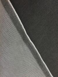 Tunnare jeanstyg med lite stretch - Svart