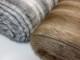 Lyxpäls - Silvervit eller brun Ökotex