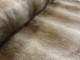 Lyxpäls - Silvervit eller brun Ökotex - Brun