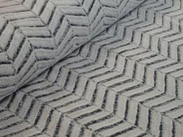 Lyxig pälsimmitation - Välj mellan vintervit chevron eller svart-vit zebra - Vintervit chevron