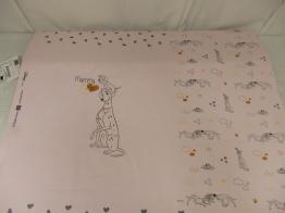 Bomullstrikå - Disney 101 dalmatiner babyrosa rapport Ökotex - Mummy and Me
