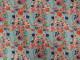 Bomullstrikå - Flora (välj färg) Ökotex