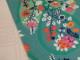 Bomullstrikå - Flora (välj färg) Ökotex - Grön