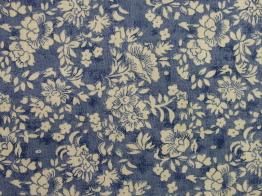Vävt modetyg till blus mm - (Välj mönster) Ökotex - Blomma
