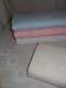 Broderat tyg för kläder, inredning mm (4 färger) Ökotex - Naturvit