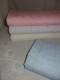 Broderat tyg för kläder, inredning mm (4 färger) Ökotex - Ljusblå