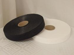 Knapphålsresår med bra stretch 18 mm Välj färg