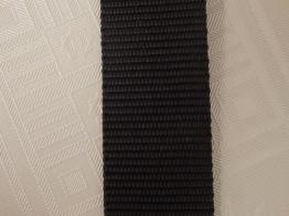 Väskband svart Välj bredd - 30 mm