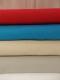 Dubbelsidigt våfflat bomullstyg 8 färger Ökotex