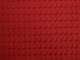 Dubbelsidigt våfflat bomullstyg 8 färger Ökotex - Röd
