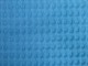 Dubbelsidigt våfflat bomullstyg 8 färger Ökotex - Turkos