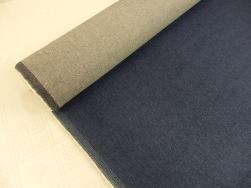 Jeanstyg med lätt stretch - Jeansblå