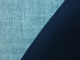 Kraftigt jeanstyg - Mörk jeansblå