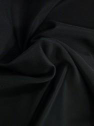 Stretchfoder till ytterkläder (polyester) - Svart