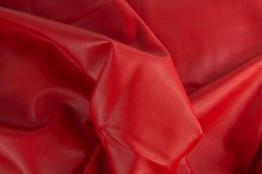 Kraftigare skinnimmitation - Röd Ökotex