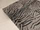 Stretchjogging - Zebra ljusgråmelerad Ökotex