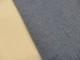 Jaquardstickat modetyg med glittertrådar mellanblå - Ökotex
