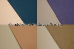 Rundstickad muddväv - (Ernst) Välj färg Ökotex
