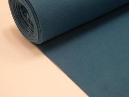 Rundstickad muddväv - (Ernst) Välj färg Ökotex - Mörk petrolblå