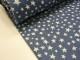 Softshell - Boston Stjärnor jeansblå Ökotex