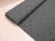 Trikå - Mörkgrön melerad stjärna 2,5 cm Ökotex