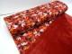 Stretchjogging med fleecebaksida - Höstlöv röd Ökotex