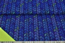 Softshell - Flätor blå-lila Ökotex