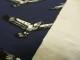 Stretchjogging (sweatshirt) - Örnar marinblå Ökotex