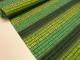 Bomullstrikå - Square N' Stripes Skogsgrön/lime Ökotex - Skogsgrön/lime