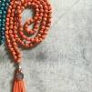 Ajlajk Halsband - Orange