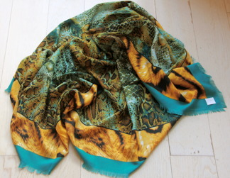 Turquoise Tiger -