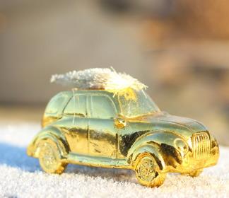 Guldig bil -