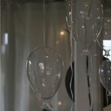 Glasballong liten