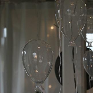 Glasballong liten -
