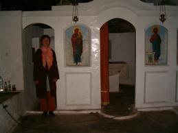 Grottkapell på Kreta, Grekland