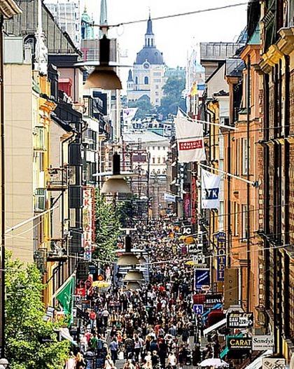Drottninggatan shopping