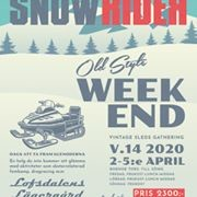 Snowrider Old Style 2-5 april 2020