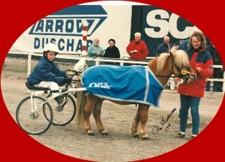 Ola Samuelsson körde Sorro till seger på Åby.
