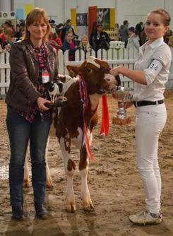 Champion dairy handler.