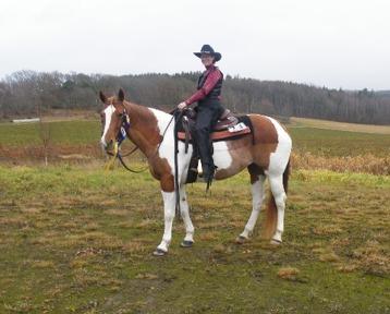 Miranda & Kissy på en av våra sista tävlingar