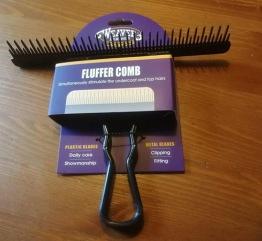 Fluffer comb - Svart
