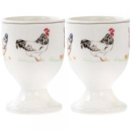 Äggkoppar - två motiv - Äggkoppar Kycklingar