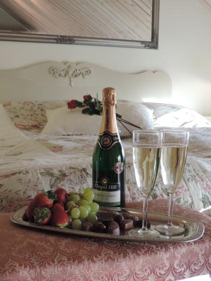 Romantisk weekend med spa på Lanthotell Lögnäs Gård utanför Laholm i södra Halland