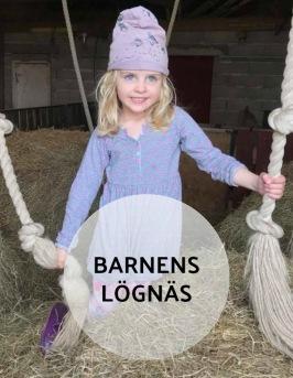 Barnvänligt på Barnens Lögnäs  SPAPAKET för hela familjen på Lanthotell LÖgnäs Gård utanför Laholm i södra Halland