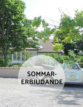 Sommarerbjudande Västkusten - barnvänligt, familjevänligt boende & sommarpaket på Hotell & SPA Lögnäs Gård mellan Laholm & Båstad i södra Halland