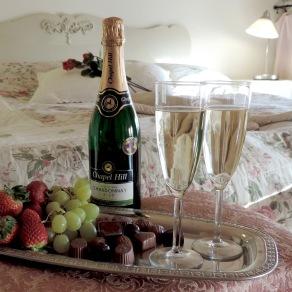 Romantiskt kärlekspaket på Alla Hjärtans Dag -Njut på spa, romantisk middag och övernattning på lanthotell LÖgnäs Gård mellan Laholm & Båstad