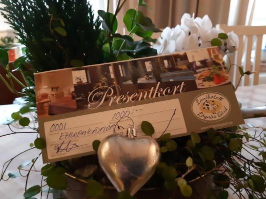 Presentkort på SPA & Hotell Lögnäs Gård mellan Laholm & Båstad i södra Halland