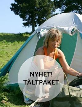 Lyxiga tältpaket inkl spa,middag & frukost på Hotell & Spa Lögnäs Gård i södra Halland