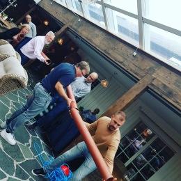 Femkamp - aktivitet för konferens, möhippa, svensexa & kickoff - Gårdens egen 5-kamp på Lanthotell Lögnäs Gård utanför Laholm & Båstad