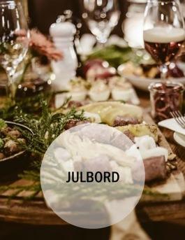 Julbord på Hotell & SPA Lögnäs Gård utanför Laholm i södra Halland
